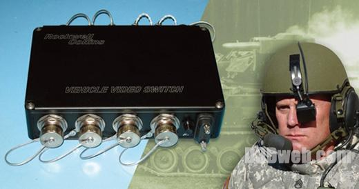 Rockwell Collins VVS(Vehicle Video Switch)头盔显示系统